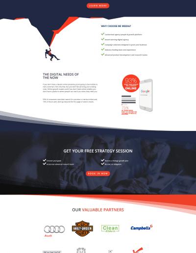 BeMedia Homepage