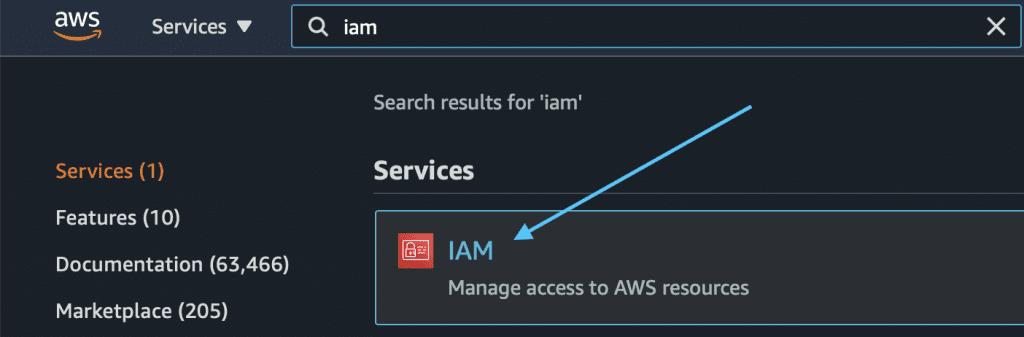 Choosing IAM
